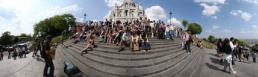 �������� �����-ʸ� Busy stairs in front of Sacré-Cœur Basil