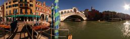 ���� ������� Rialto bridge, from the canal