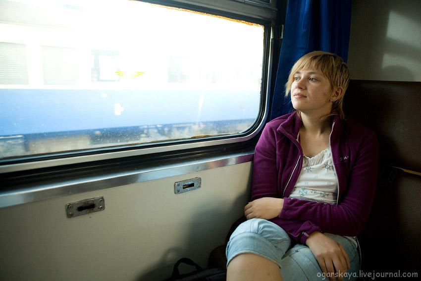 Ехать в одном купе с девушкой во сне в поезде